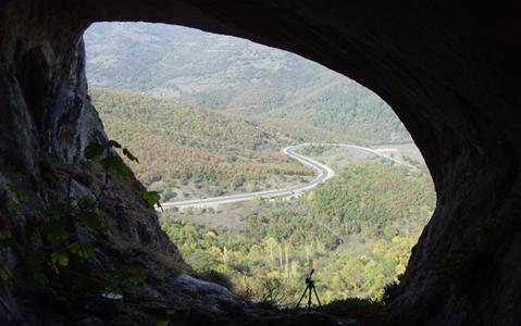 Şahinkaya Mağarası